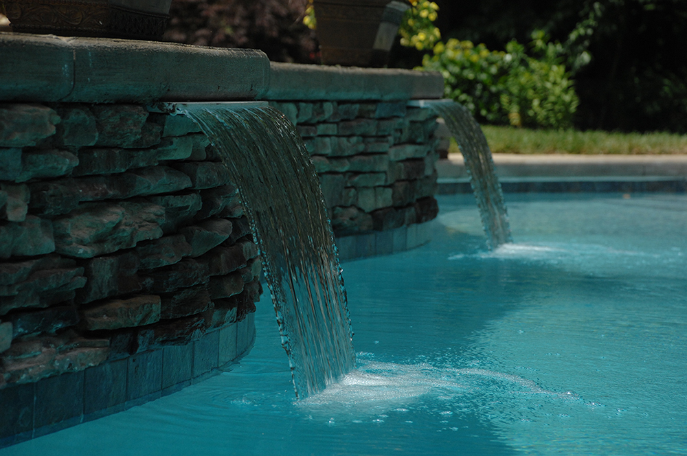 Colored Led Lights >> Water Features : Ultimate Pools