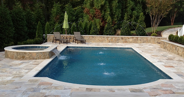 Attractive Custom Gunite Swimming Pools U0026 Spas