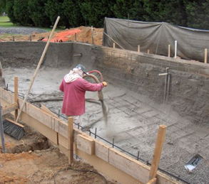 Virginia swimming pool construction process ultimate pools - Swimming pool construction process ...